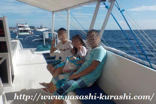 セブ,シュノーケル,アイランドホッピング,バンガーボート,ナルスアン島,ヒルトゥガン島