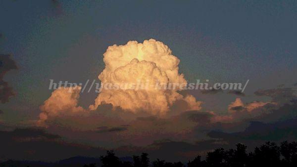 夕焼け,雲,空,写真