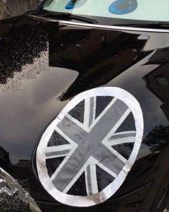 mini,BMW,ヘッドライトカバー,ヘッドライト黄ばみ防止