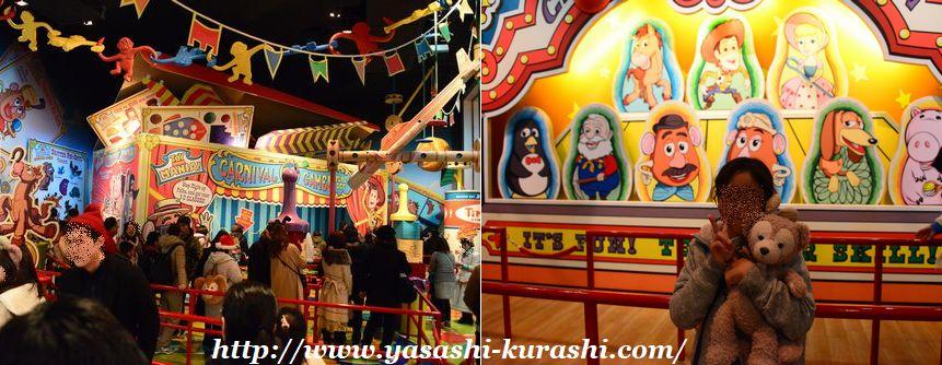 東京ディズニーシー,東京ディズニーリゾート,TDR,クリスマス,トイストーリーマニア