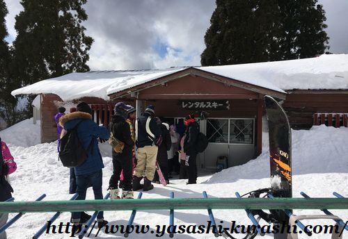 箱館山スキー場,滋賀,琵琶湖,ゴンドラ,スノボレンタル,ウェアレンタル