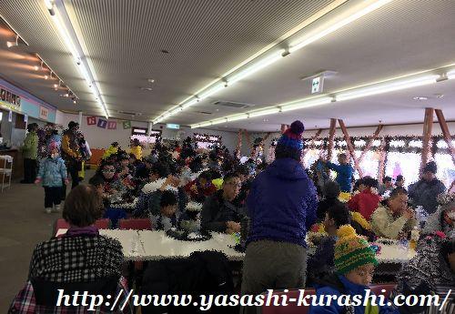箱館山スキー場,滋賀,琵琶湖,からまつ小屋,食堂