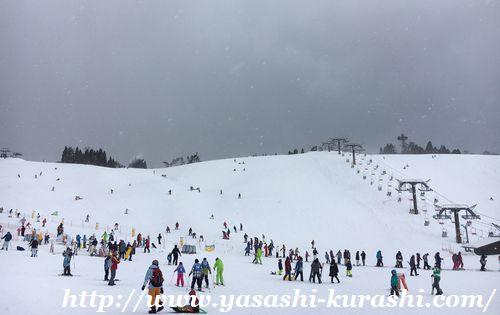 箱館山スキー場,滋賀,琵琶湖,ゴンドラ,スノボレッスン