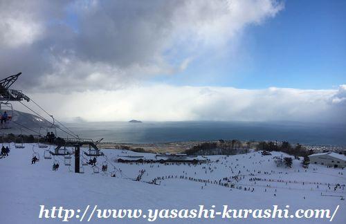 箱館山スキー場,滋賀,琵琶湖,ゴンドラ