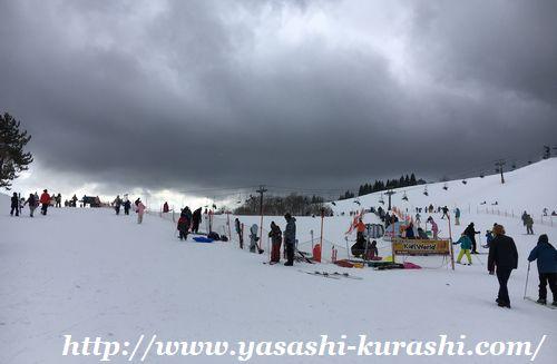 箱館山スキー場,滋賀,琵琶湖,ゴンドラ,キッズゲレンデ
