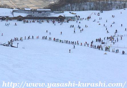 箱館山スキー場,滋賀,琵琶湖,ゴンドラ,スノボスクール