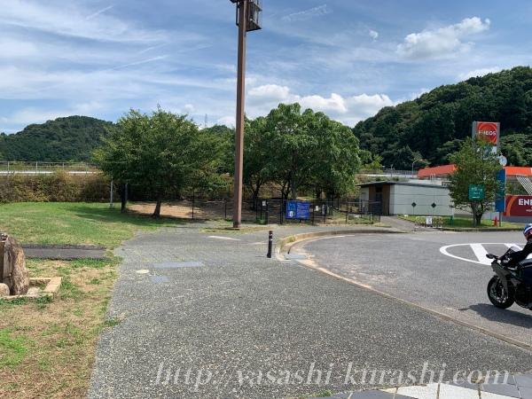 岸和田サービスエリア,みかんパン,ドッグラン