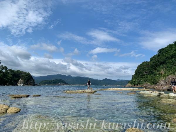 日本海,香住,海,水遊び,海遊び,海水浴,磯遊び,今子浦海水浴場