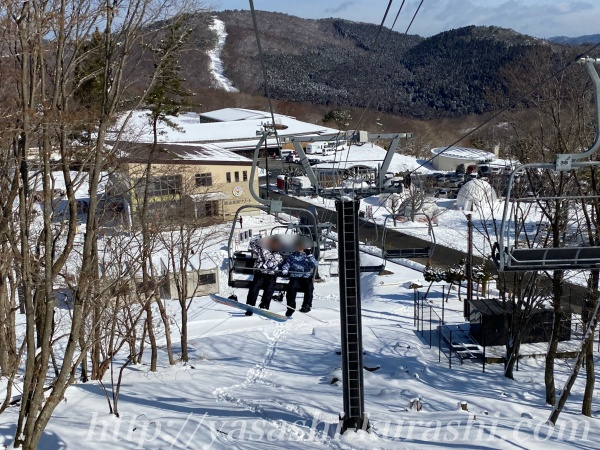 峰山高原,スノボ,スキー,電車,シャトルバス